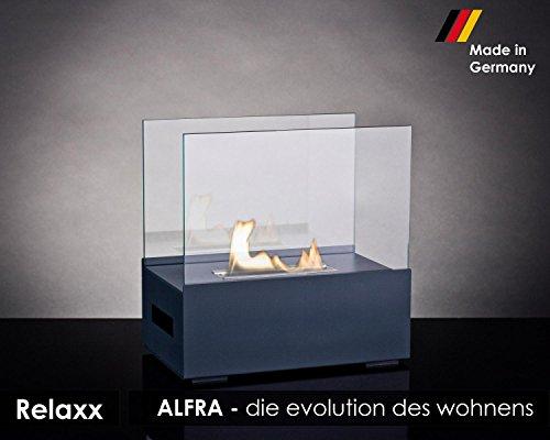 Preisvergleich Produktbild ALFRA Feuer Relaxx Ethanol-Kamin, Tischkamin, Feuerstelle für Bio Ethanol für Innen und Außen