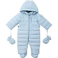 Oceankids Tuta monopezzo / tuta da neve / da passeggino con cappuccio, da bambino 0-24 Mesi