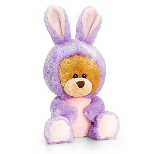 Keel Toys Pipp der Bär Hasenkostüm (One Size) (Violett)