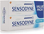 Sensodyne Extra Fresh Toothpaste, Value Pack (2x75 ml)