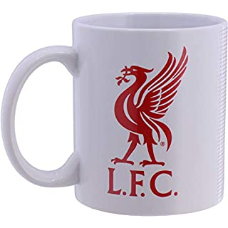 Liverpool Football Club Official Half Tone Mug Crest Badge Team Tea Coffee