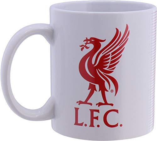 Liverpool Football Club Official Half Tone Mug Crest Badge Team Tea Coffee -