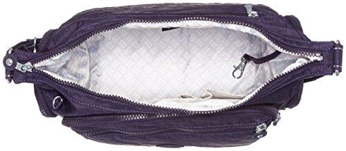 Kipling Damen Gabbie Umhängetaschen, 36x30x19 cm Violett (Blue Purple C)