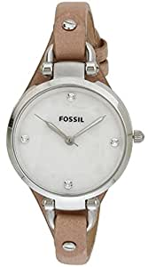 Fossil End of Season Georgia Analog Silver Dial Women's Watch - ES3150