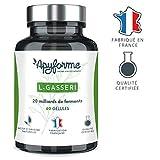 robiotique Minceur Lactobacillus Gasseri • 20 Milliards d'UFC avec 2g/j • Complément Alimentaire L Gasseri 100% FRANÇAIS • Cure de 30 Jours 60 Gélules • Fabriqué et Conditionné en France par Apyforme