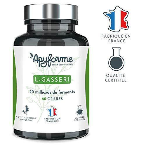 Apyforme - L Gasseri - Probiotika - Schlankheitsmittel - Probiotikum Lactobacillus gasseri - 60 vegetarische Kapseln - 2 Monate Kur - Made in France -