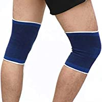 Preisvergleich für Ankamal Elec Knie-Stützklammer-Bein-Arthritis-Verletzung Gymnastik-Knie-Hülsen-elastischer Fußball-Fußball-Verband-Basketball-Knie-Auflagen-Schutz-Knie-Stützklammer