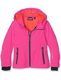 CMP Softshell 3a29385N para niña, niña, Softshelljacke 3A29385N, Hot Pink-Bitter, 164