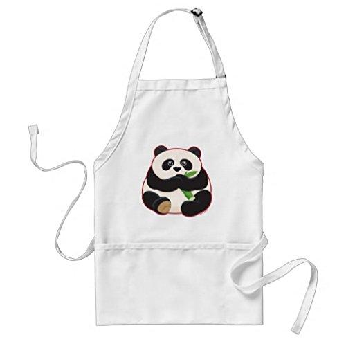 whiangfsoo grasso Panda lungo grembiule per