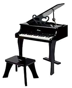 Hape - E0320 - Instrument de Musique en Bois Premier Age - Piano à Queue Noir