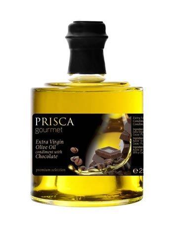 Condimiento de Aceite de Oliva Virgen Extra con Chocolate – 250 gr