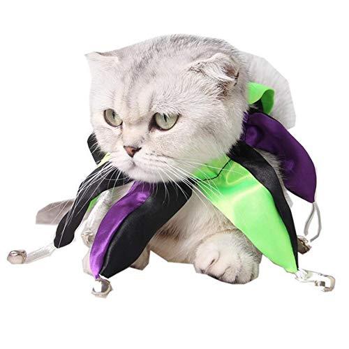 BEAYPINE Haustierkostüm, Halloween-Kostüm, für Hunde und Katzen, gruselig