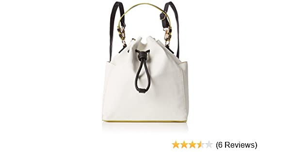 New Look Womens Unlined Duffle Backpack Handbag White (White) 8d6ade24050fa