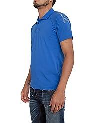 Polo EA7 EMPORIO ARMANI Hombre 3YPF83 PJ03ZE1598 Blu
