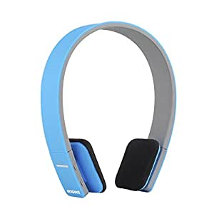 Envent Boombud ET-BTHD001 Wireless Dual Pairing Bluetooth Headphones with mic (Blue)
