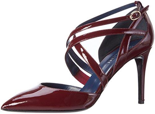 Pollini Pollini Shoes, Escarpins femme Rot (Bordeaux 554)