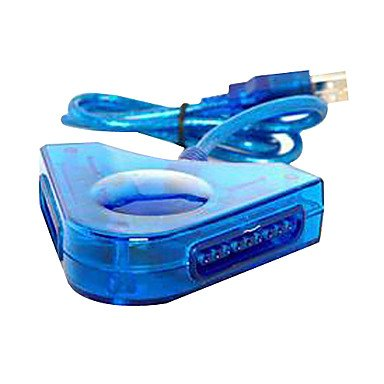 Tayobi @ psx dual USB controlador de adaptador convertidor para PC PS2
