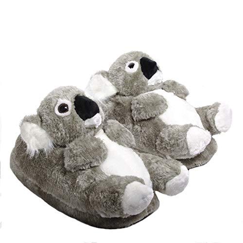 Sleeper'z - Koala - Zapatillas de casa Animales Originales y Divertidas - Adultos y Niños - Hombre y Mujer - 37/38 (M)