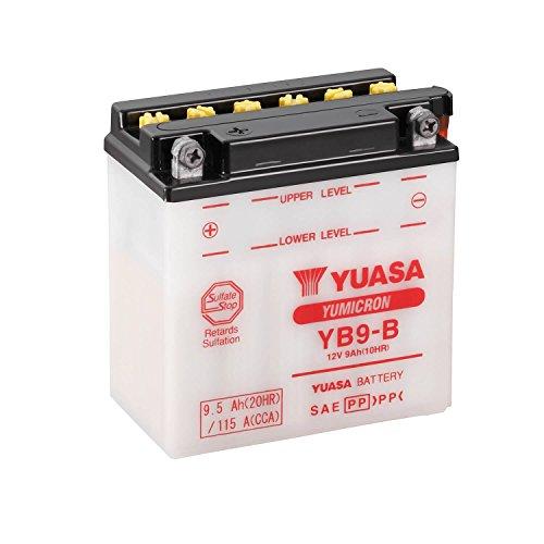 YUASA - 61317 : Batería Yuasa YB9-B Combipack (con electrolito)