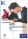 Accountant in Business (AB) - Study Text (Acca Study Texts)