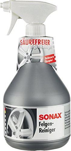 SONAX Felgenreiniger säurefrei für Leichtmetallfelgen & Stahlfelgen, entfernt schnell und einfach Verschmutzungen