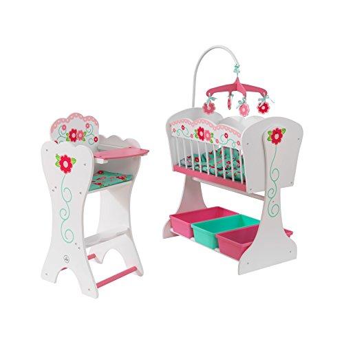 KidKraft 64310 - Sweet Roses Puppenmöbel-Set, Multi, 18 Zoll Doll Accessories