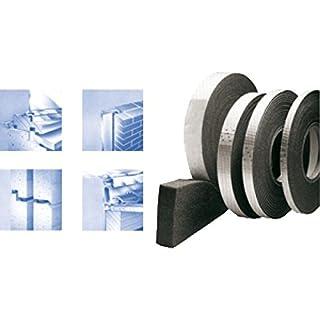 20m Komprimierband 600Pa BG1 10/1-2, Bandbreite 10mm, für Fugenbreite 1-2mm, Fugendichtband Kompriband Fugenabdichtung Dichtungsband Fensterdichtband Quellband 10/2 Fugendichtband