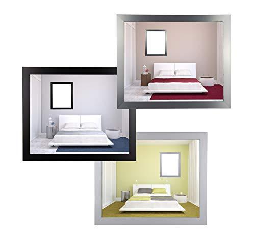 myposterframe Juno Bilderrahmen Holz Werkstoff 30 x 90 cm Größenwahl 90 x 30 cm MDF Farbwahl Hier: Weiß matt mit Acrylglas klar 1 mm