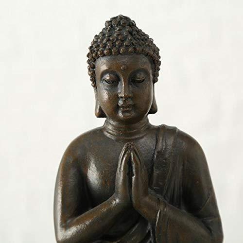 Buddha Teelichthalter im 2er Set je 19 cm - 6