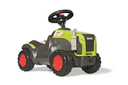 *Rolly Toys 132652 Traktor Minitrac Claas Xerion, Babyrutscher, Motorhaube öffenbar, Ablagefach unter Motorhaube, Lenkrad mit Hupe (für Kinder ab 1,5 Jahren, Farbe: Grün)*