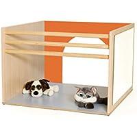 mobeduc Cube für Babys spielen, Holz, Orange, 100x 70x 100cm preisvergleich bei kinderzimmerdekopreise.eu
