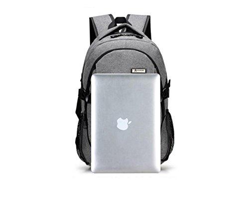 LQABW Escursionismo Zaino Spalla Viaggi Tempo Libero Computer Bag 20-35L,Grey Purple