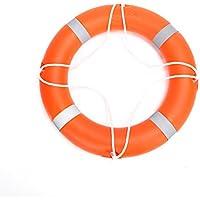 Huapa Vie professionnelle Bouée Vie d'économie d'Bouée Plastique Bague de bouée de sauvetage nautique pour adulte
