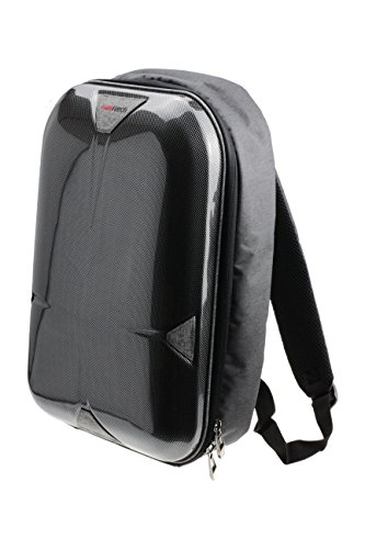 Navitech grau Projektor Tragetasche / Rucksack / Backpack / Tasche / Reisekoffer Für die BenQ W1110