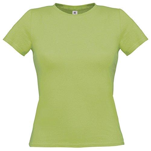 Flirty Wardrobe B & C uniquement Drap en coton T-shirt pour femme Vert - Pistache