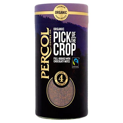 PERCOL Fairtrade Organic Rich Roast Instant Arabica Coffee 100g 410reTRJu3L