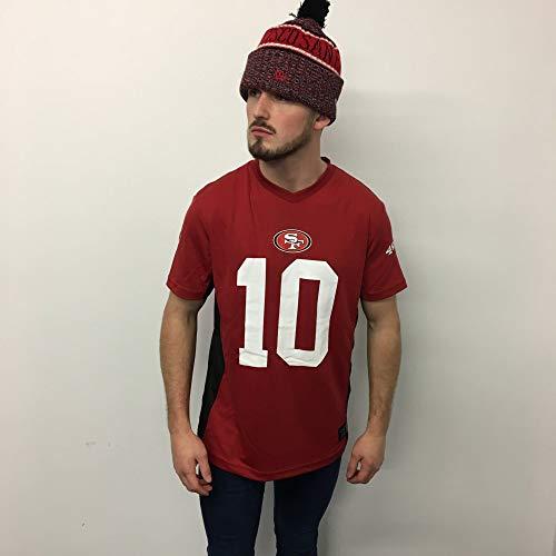 NFL San Francisco 49ers Garoppolo #10 T-Shirt rot 3XL