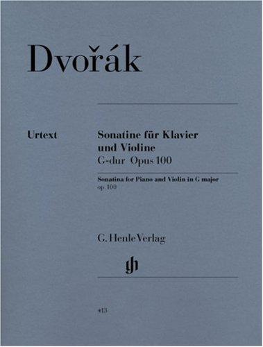 Sonatine Op.100 Sol Maj. - Vl/Po