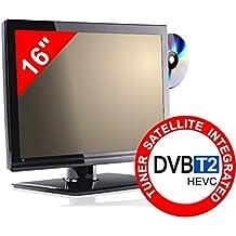 TV 16 - DVD/USB - LED - DECODER