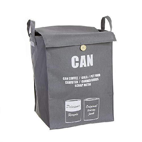 Dcasa Recyclingkorb für Schränke, Aufbewahrung unter Regal, Artikel für Zuhause, Unisex, Erwachsene, Mehrfarbig (Mehrfarbig), Einheitsgröße