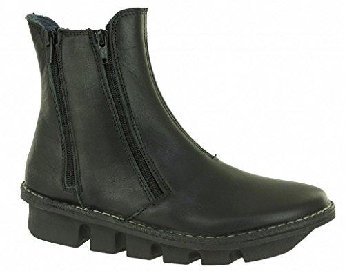 Bottines originales Alce shoes en cuir noir Noir