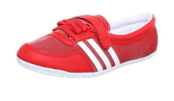 Adidas ORIGINALS Concord Round W, Ballerines Femme Rouge