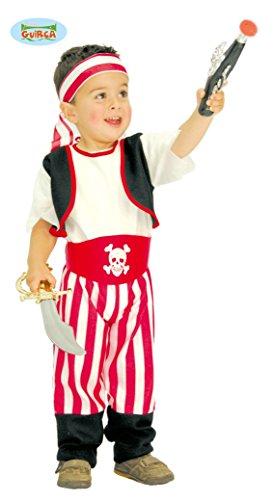 Piraten Kostüm Baby (Baby Pirat - Kostüm für Kinder Gr. 74 - 98,)