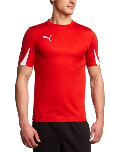 PUMA Herren T-Shirt Team Trikot Red-White, M