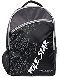 POLE STAR -Hero PRO 30 Lt Black Casual School Backpack Bag