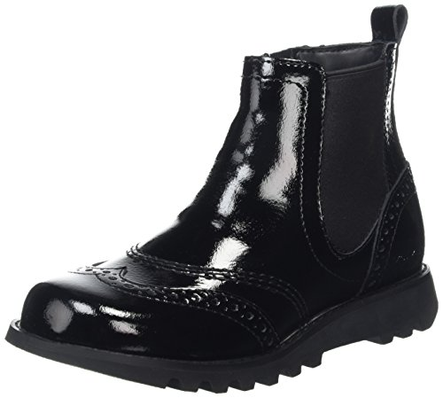 Kickers Women's Kick Chel Brog Ankle Boots, Black (Black), 6 UK 39...