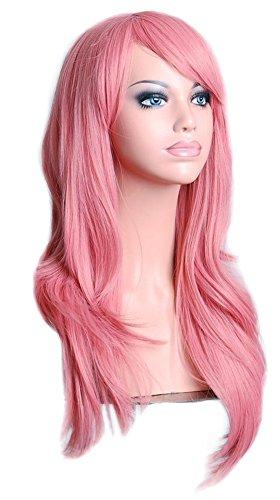 Cosplay inshop 71,1 cm longue Big Cheveux ondulés résistant à la chaleur cosplay perruque Livraison gratuite