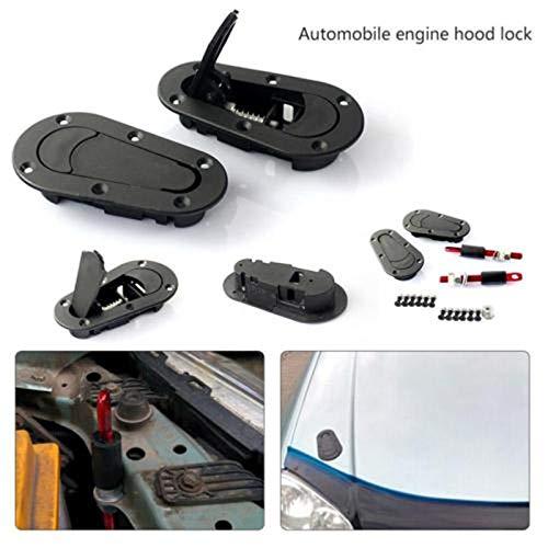 RONSHIN Universal-Rennwagenhaube Plus Flush Hood Latch Pin-Schlüssel ohne Schlosssatz -