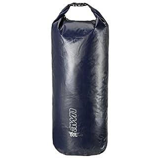 AWN wasserdichter Seesack die ideale Packtasche für Outdoor, Camping und Wassersport (32,5 x 97 cm (60L))