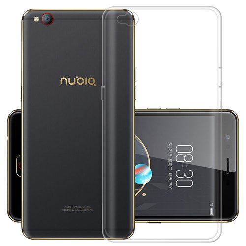 G-Hawk® Weich TPU Silikon Handyhülle Für ZTE Nubia N2, Super Dünne & Leichte Soft Case Rubber Silicone Skin Hülle (Transparent)